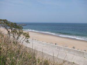 今日の長浜海岸は穏やかです(*^^*)